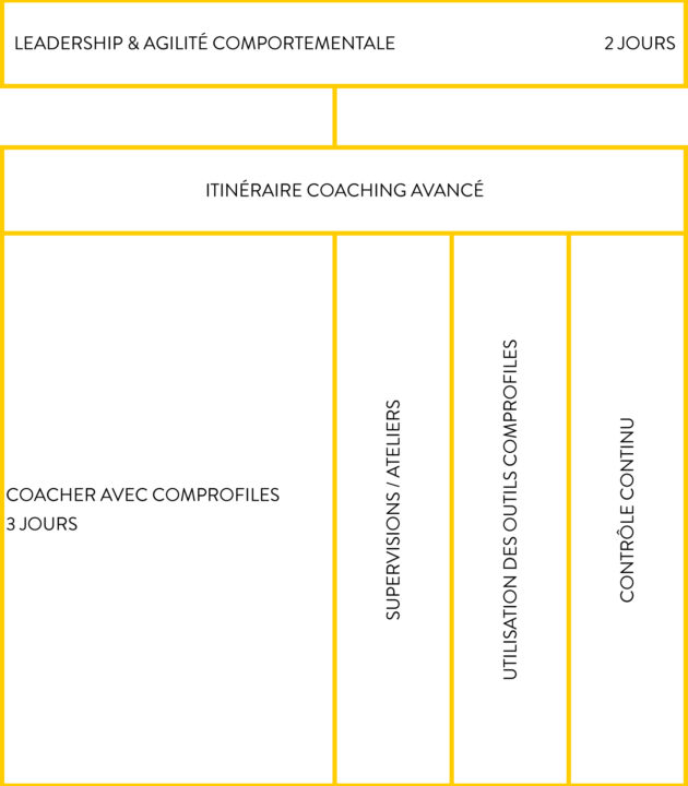 ComProfiles Academy - Schéma Itinéraire Coach Avancé